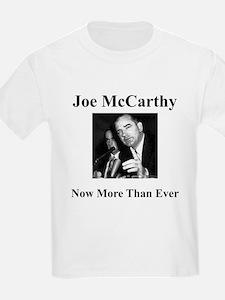 Joe McCarthy Now More Than Ever Kids T-Shirt