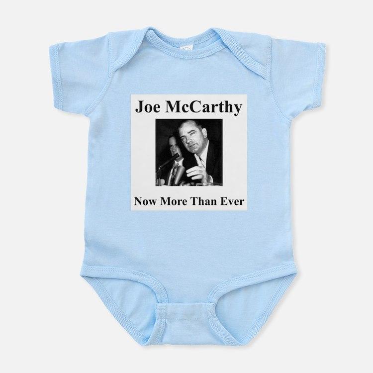 Joe McCarthy Now More Than Ever Infant Creeper