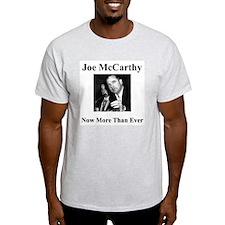 Joe McCarthy Now More Than Ever Ash Grey T-Shirt