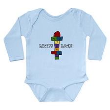 Recess Rocks Long Sleeve Infant Bodysuit