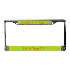 Om. License Plate Frame