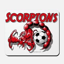 Scorpions Soccer Mousepad