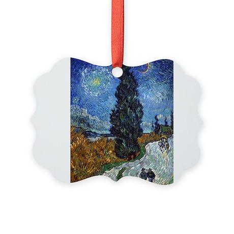 vincent van gogh Picture Ornament
