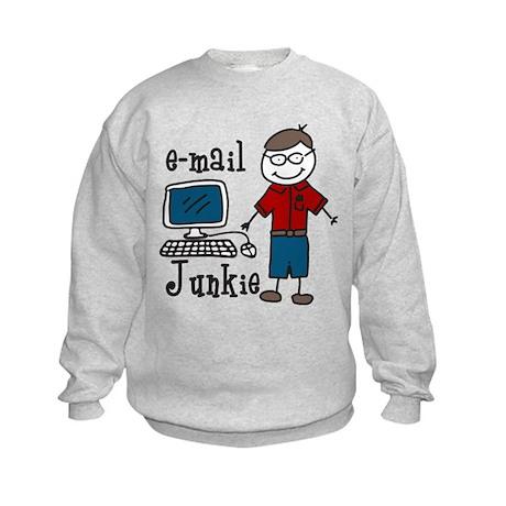 E-Mail Junkie Kids Sweatshirt