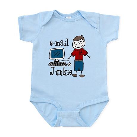 E-Mail Junkie Infant Bodysuit