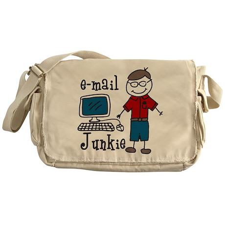 E-Mail Junkie Messenger Bag
