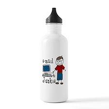E-Mail Junkie Water Bottle