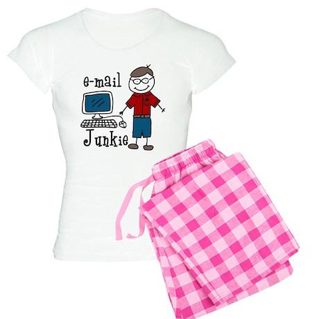 E-Mail Junkie Women's Light Pajamas