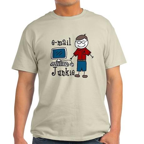 E-Mail Junkie Light T-Shirt