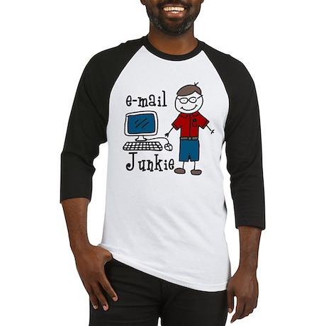 E-Mail Junkie Baseball Jersey