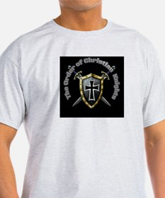 The Order of Christian Knights Logo T-Shirt