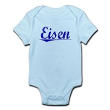 Eisen, Blue, Aged Infant Bodysuit