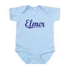 Elmer, Blue, Aged Infant Bodysuit