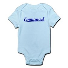 Emmanuel, Blue, Aged Infant Bodysuit