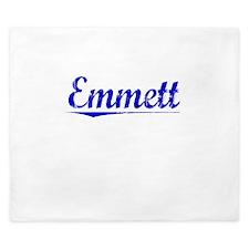 Emmett, Blue, Aged King Duvet