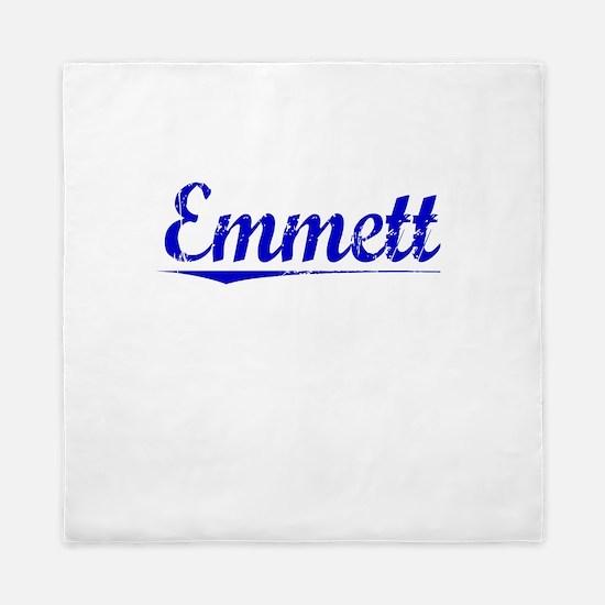 Emmett, Blue, Aged Queen Duvet