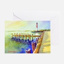 Path To Barnegat Light Greeting Card