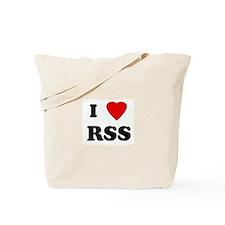 I Love RSS Tote Bag