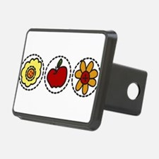 Flowers And Apple Hitch Cover
