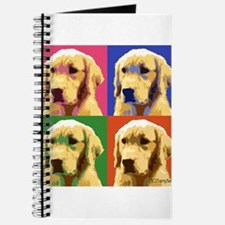 Golden Retriever Pop Art Journal