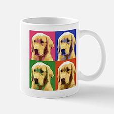 Golden Retriever Pop Art Mug