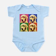 Golden Retriever Pop Art Infant Bodysuit