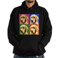 Golden Retriever Pop Art Hoodie