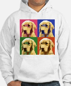 Golden Retriever Pop Art Jumper Hoody