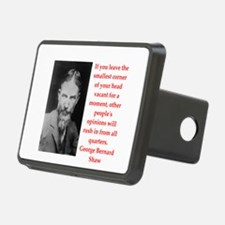 george bernard shaw quote Hitch Cover
