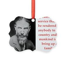george bernard shaw quote Ornament