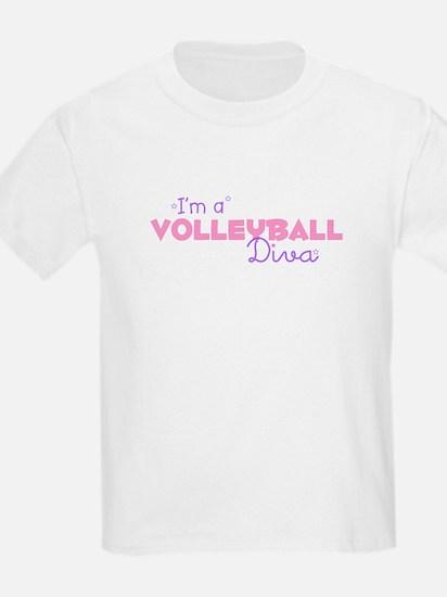 I'm a Volleyball diva Kids T-Shirt