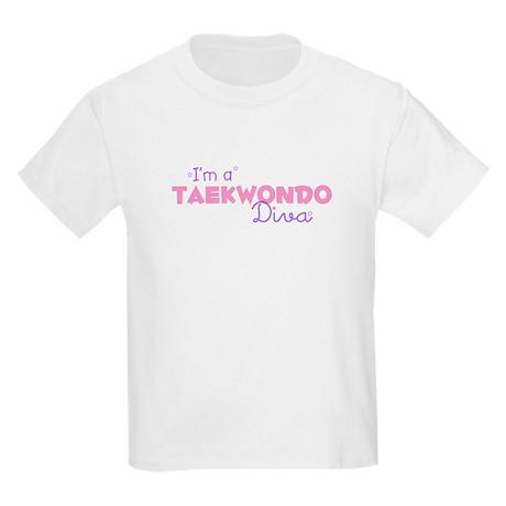 I'm a Taekwondo diva Kids T-Shirt