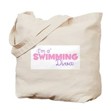 I'm a Swimming diva Tote Bag