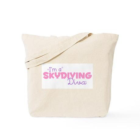 I'm a Skydiving diva Tote Bag