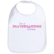 I'm a Skateboarding diva Bib
