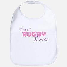 I'm a Rugby diva Bib