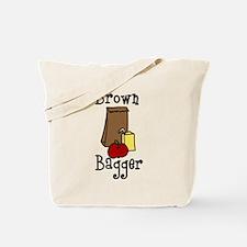Brown Bagger Tote Bag