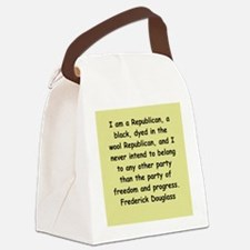 fred12.png Canvas Lunch Bag