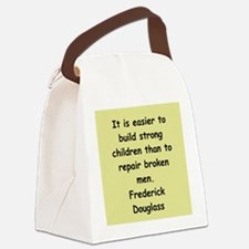 fred116.png Canvas Lunch Bag
