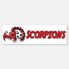 Scorpions Soccer Bumper Bumper Bumper Sticker