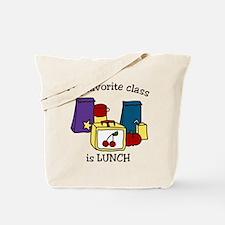 My Favorite Class Tote Bag