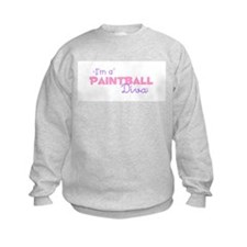 I'm a Paintball diva Sweatshirt