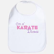 I'm a Karate diva Bib
