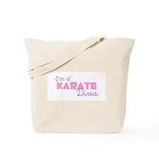 I'm a Karate diva Tote Bag