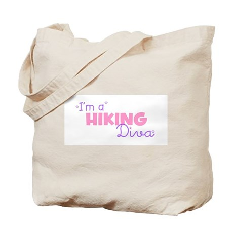 I'm a Hiking diva Tote Bag