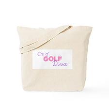 I'm a Golf diva Tote Bag