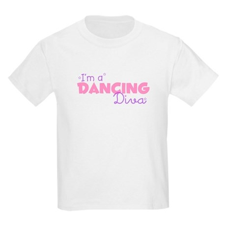 I'm a Dancing diva Kids T-Shirt