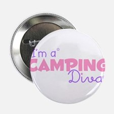 I'm a Camping diva Button