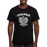 Polish Fitted T-shirts (Dark)