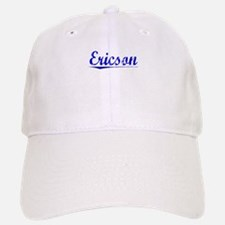 Ericson, Blue, Aged Baseball Baseball Cap